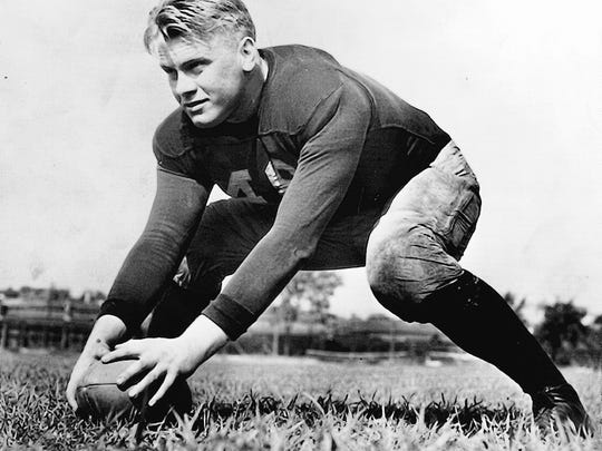 Before he was President, Gerald Ford was a standout at the University of Michigan.