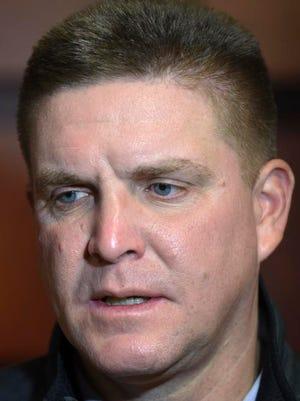 Tennessee defensive coordinator Bob Shoop