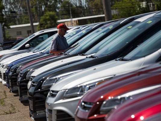 Used car prices hit four-year lows