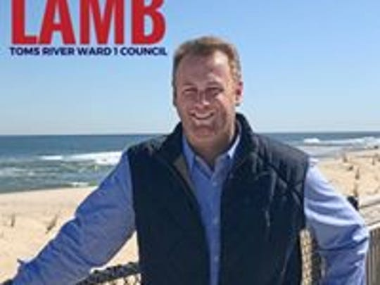 Justin D. Lamb, who once sought a Toms River council seat, is facing a disorderly persons charge.