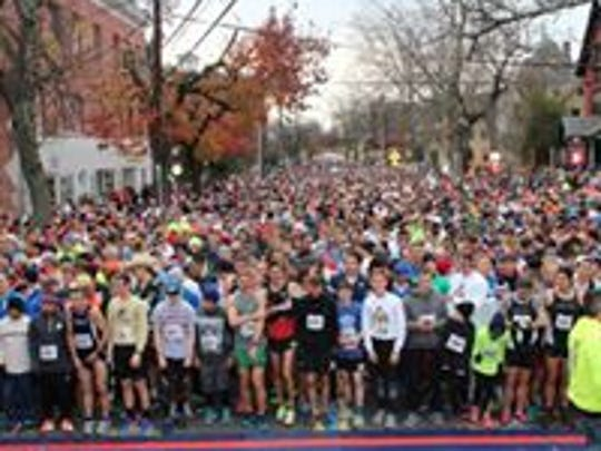 The Turkey Trot 5K in Flemington is a tradition going on its 25th year.