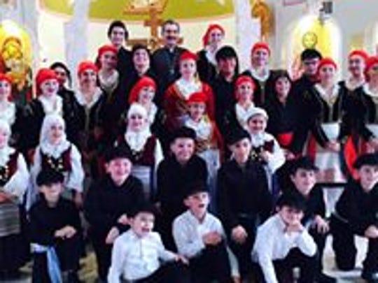 Meet St. Nicholas Greek Orthodox dancers and tour the