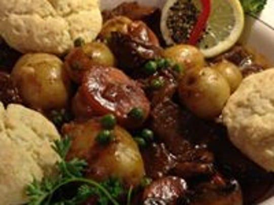 Traditional Irish Stew at The Quiet Man.