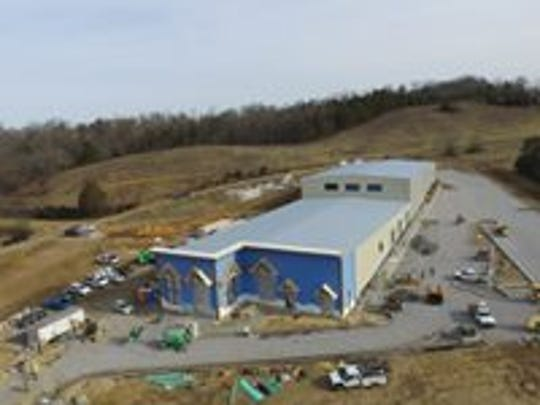 The Pigeon Forge Snow building encloses 35,000 square