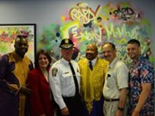 Perth Amboy opened its first police substation in 20