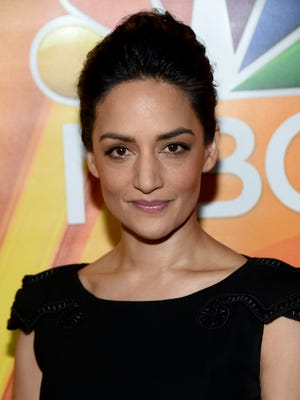 Archie Panjabi attends the NBCUniversal press day during the 2016 Television Critics Association summer tour.