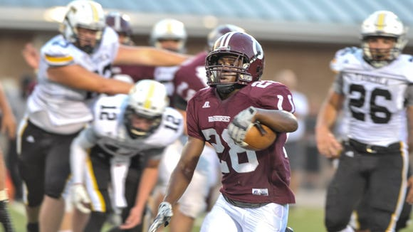 Sidney Gibbs (28) and Owen travel to McDowell on Friday.