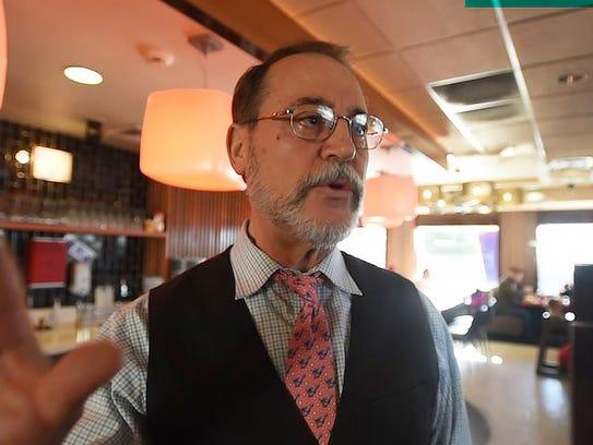 Steve Karas, owner of ALPS Diner in Wayne talks about