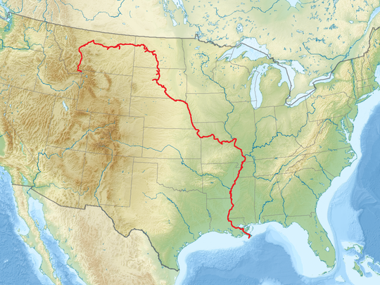 The source-to-Sea water route on the historic Missouri and Mississippi rivers. LeRoy's Kris Laurie is the first to record this event by canoe.