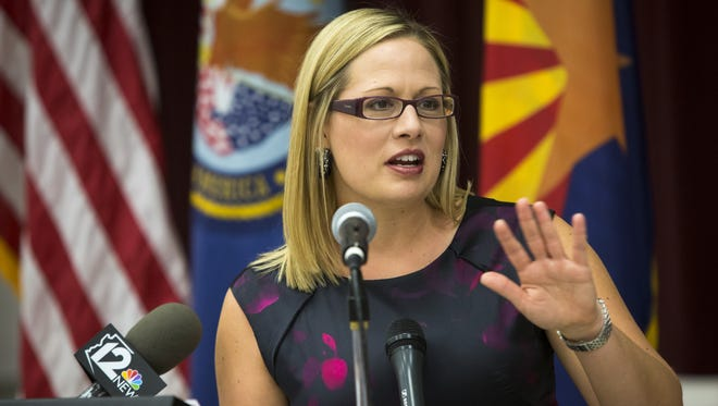 Days after student journalists reported that U.S. Rep. Kyrsten Sinema had collected about $10,000 in campaign contributions from owners of a website accused of knowingly accepting ads offering sex with underage girls, the Arizona Democrat has said she is giving the money to a non-profit for aspiring journalists.