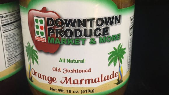Old Fashioned Orange Marmalade is available at Downtown