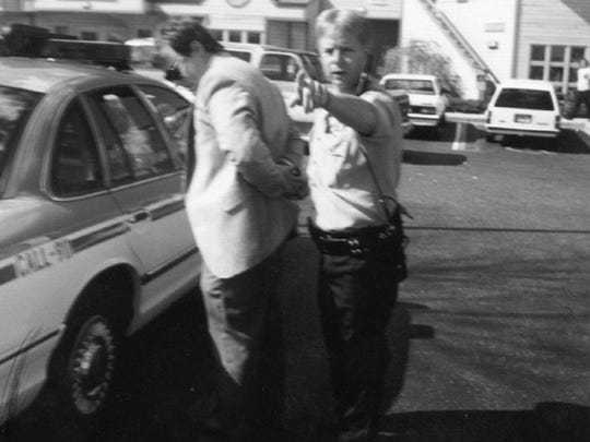 Michael Griffin after he shot and killed Dr. David