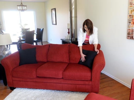 Denise Wycoff of New Stages, a home staging company,
