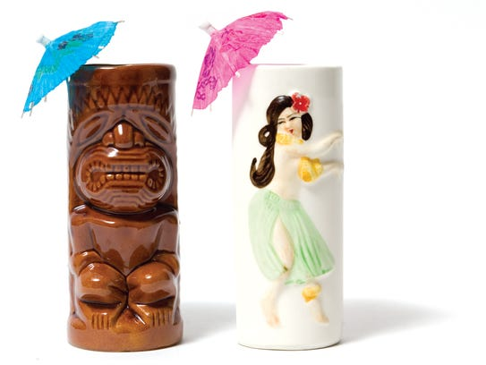 Tiki Glasses from Chans