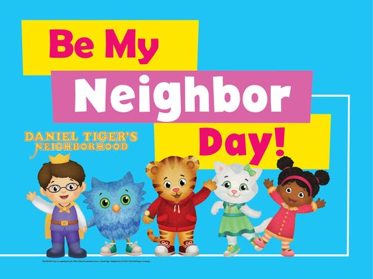 The Be My Neighbor Day program, held in part to honor
