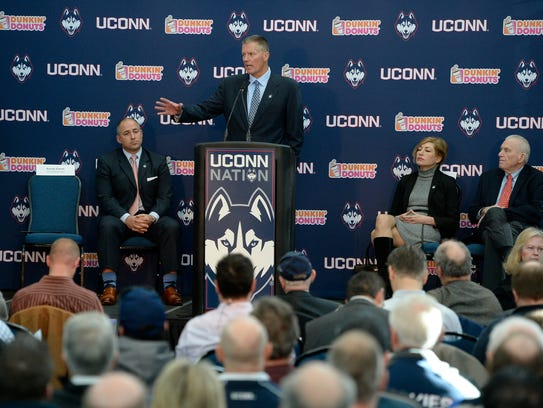Randy Edsall talks about the rare opportunity to return