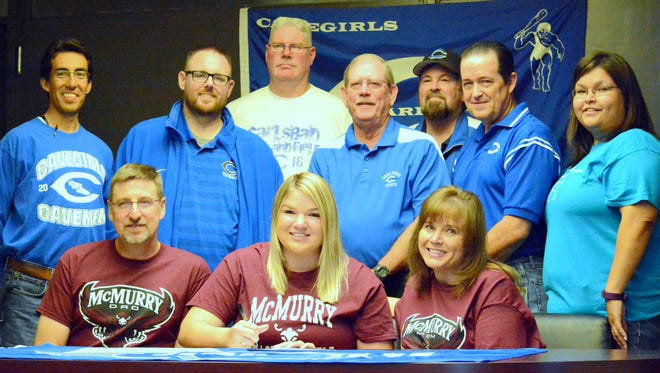 Carlsbad's Carly Kantrowitz will continue her track and field career at NCAA Division III's McMurry University.