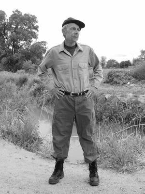 Baldwin Burr portrays famed war correspondent Ernie Pyle in a Chautauqua this weekend at San Juan College.