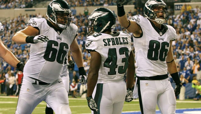 Andrew Gardner (66) placed on injured reserve by Eagles.