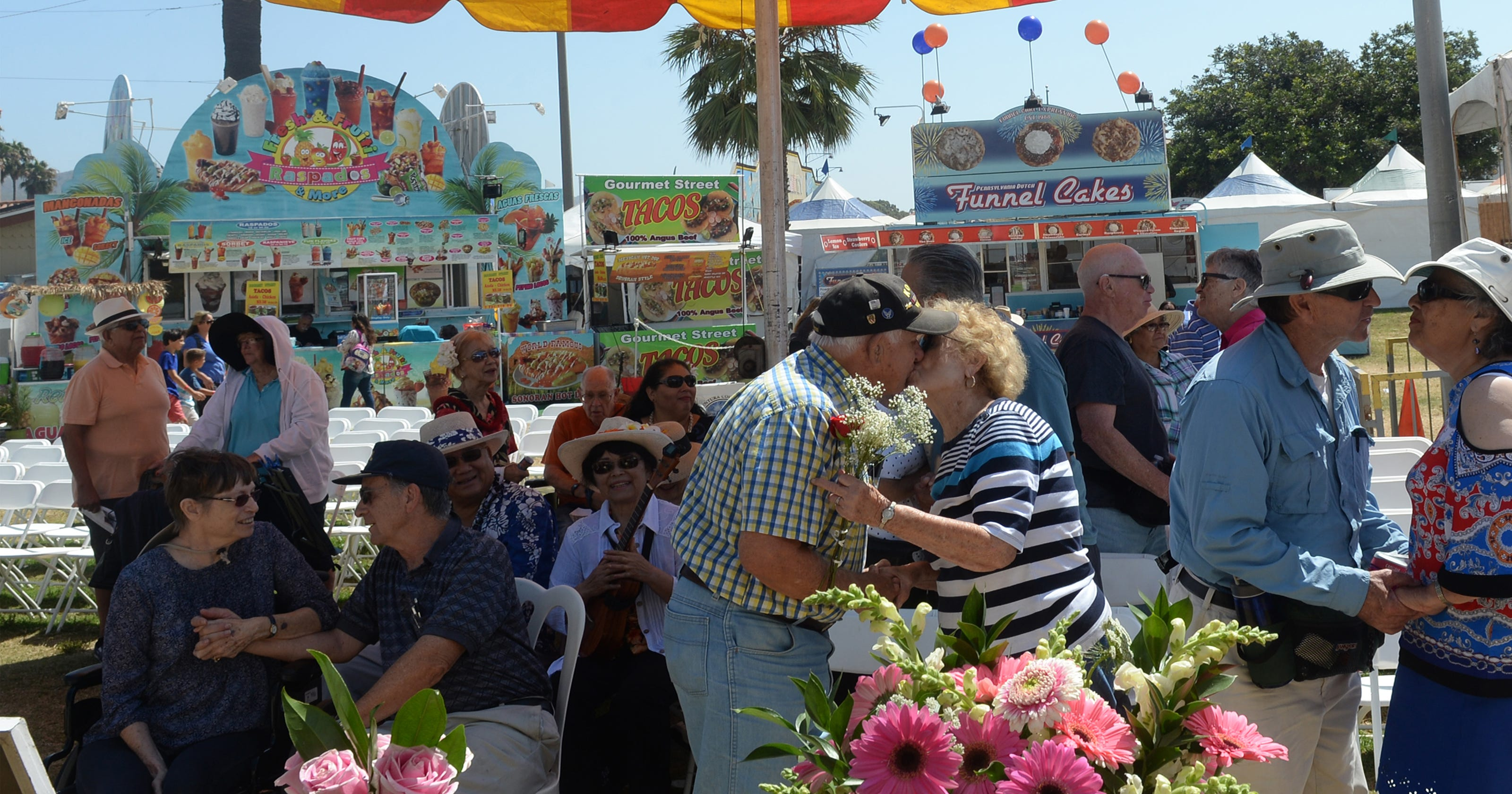 Couples Celebrate Decades Of Marriage At Ventura County Fair