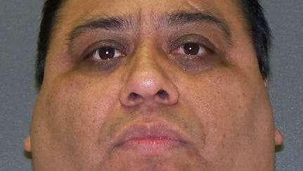 Convicted killer Ramiro Hernandez-Llanas who was scheduled to die April 9, 2014, is shown in this file image provided by the Texas Department of Criminal Justice. On Wednesday, April 2, 2014, a federal judge issued a temporary injunction halting the executions of Hernandez-Llanas and Tommy Lynn Sells, a convicted serial killer who was set to die Thursday, April 3, 2014.