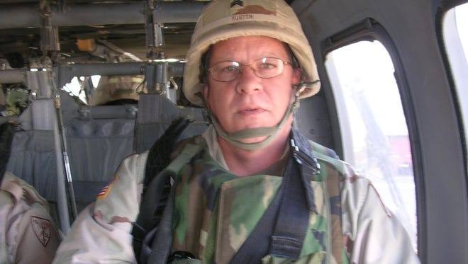 Virgil Huston, 58, first began noticing post-traumatic stress disorder after his 2004-2005 tour in Afghanistan and Iraq with the National Guard. Psychotherapy with MDMA helped his symptoms disappear, he said.