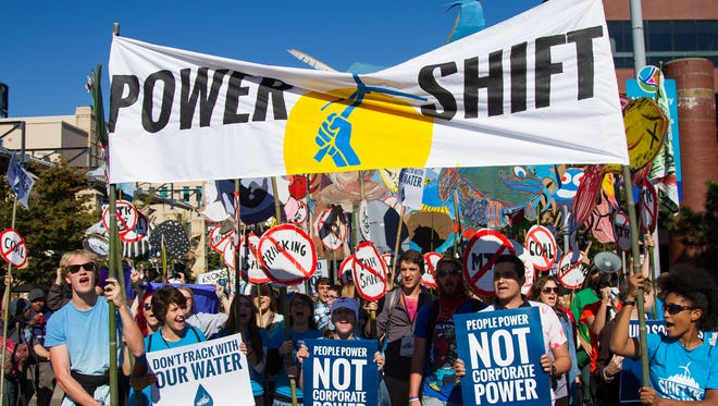Over six thousand young people from all over the country converged in Pittsburgh, PA for Power Shift 2013.
