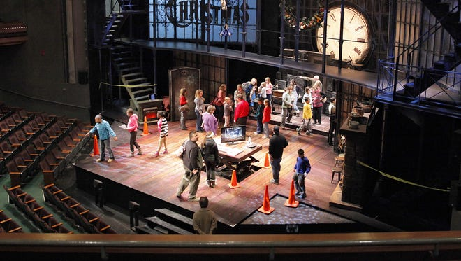 "A 2013 file photo of Geva Theatre Center during ""A Christmas Carol."""