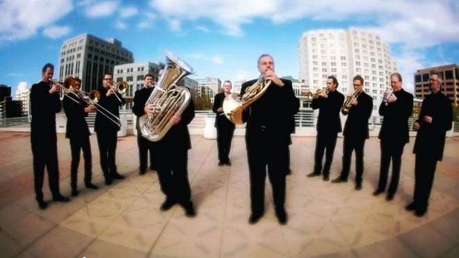Isthmus Brass Band will perform a Christmas concert at THELMA on Dec. 12.