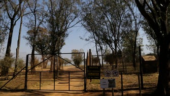 A general view of an enclosure of the Lion Park in Johannesburg, South Africa, on June 2, 2015.