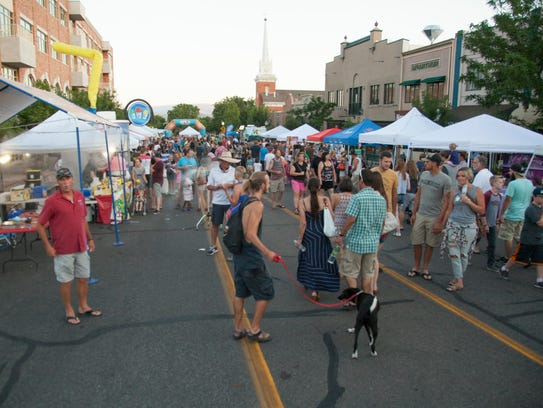 St. George residents celebrate a year of George Streetfest