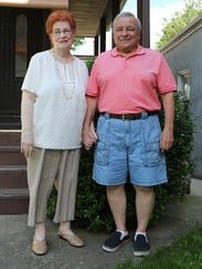Shirley and Bill Gaudioso from Poughkeepsie, are pictured