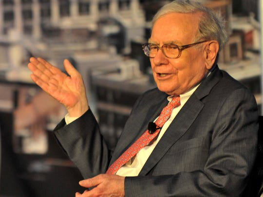 Warren Buffett was one of the star visitors at the homecoming event.