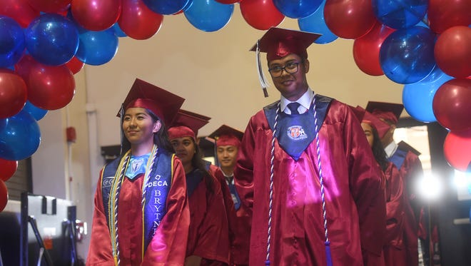 The Okkodo High School 2018 Graduation Ceremony was held at the University of Guam Calvo Field House in Mangilao on June 3, 2018.