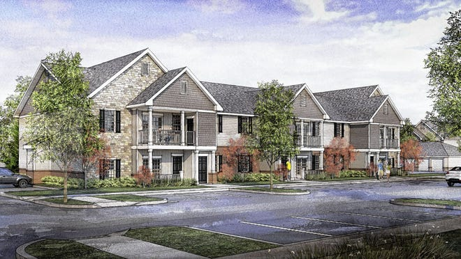 Metro Development LLC wants to build 280 apartment units on the west side of North Hamilton Road, near Central College Road. The apartments would be in Columbus, just west of New Albany.