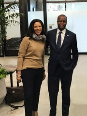 Bonita Stewart, Google's vice president of global partnerships, worked with Howard University President Wayne Frederick to develop the framework for Howard West.