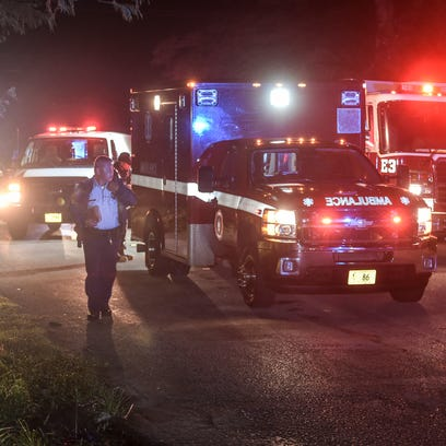 A man Saturday evening was transported to the Guam Memorial Hospital after an auto-pedestrian  accident in Mangilao.