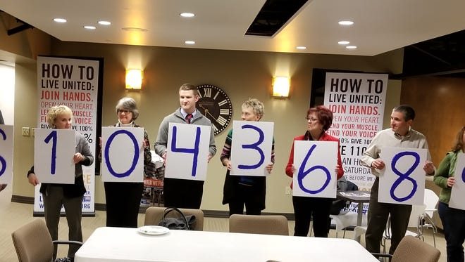 For the eighth straight year, the United Way of Cascade County campaign raised more than $1 million.