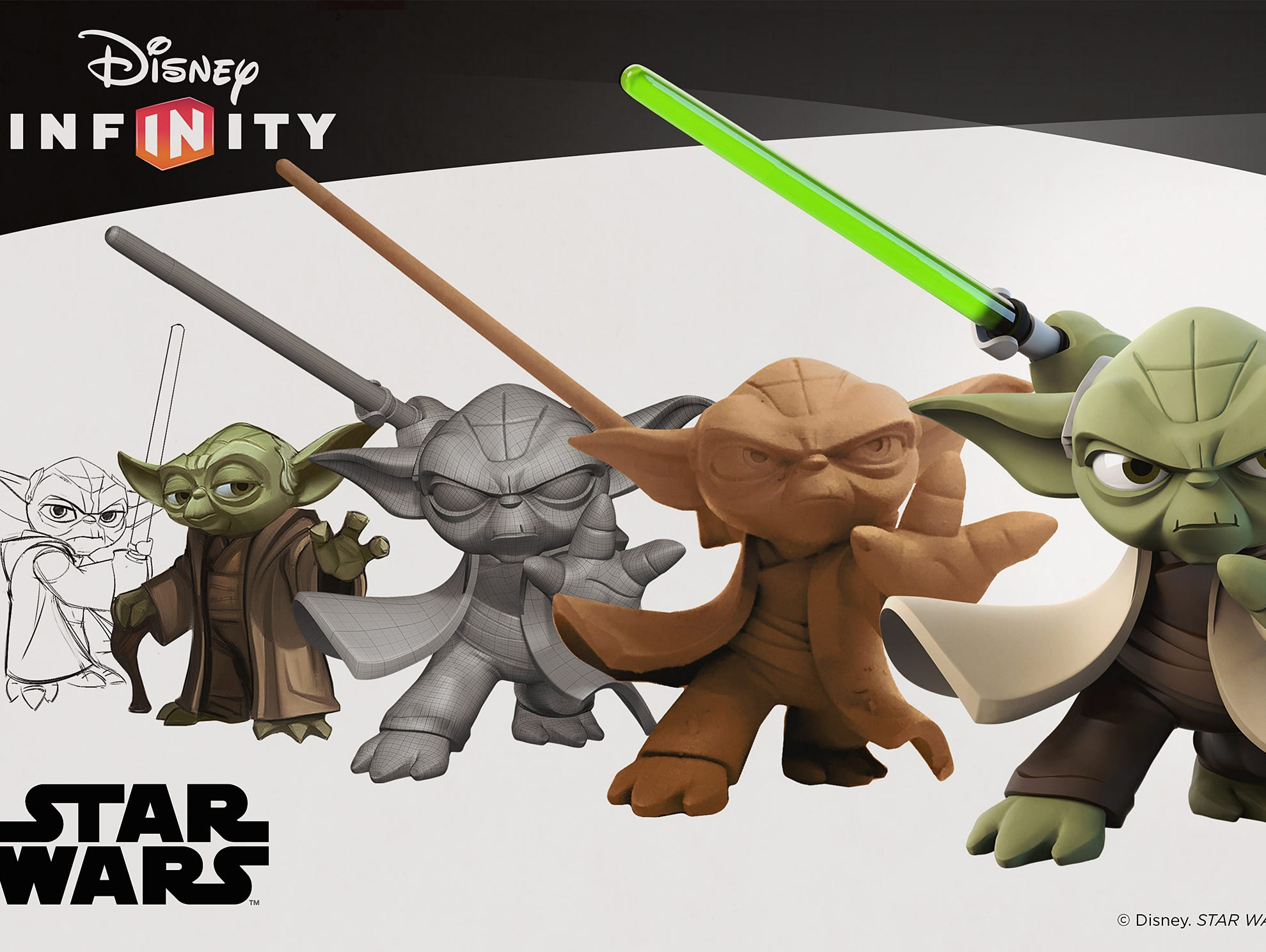 An exclusive look at the design process for Yoda in