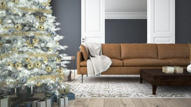 Keep your seasonal decorations conservative, but a light and bright or beautifully decorated home with well-placed greenery can give prospective buyers a picture of how their own decorations could fit in the home.