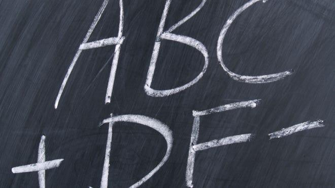 grades - school - chalkboard chalk board