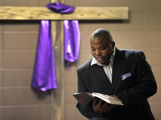 The Rev. Alvin Dupree, who had a two-decade career in the military, now leads Family First Ministries in downtown Appleton.