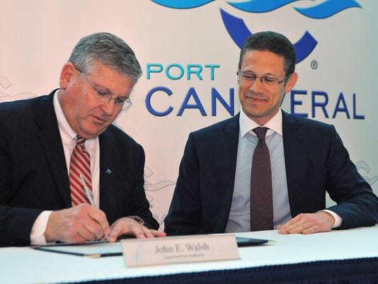 PORT 35-YEAR AGREEMENT WITH GULFTAINER USA