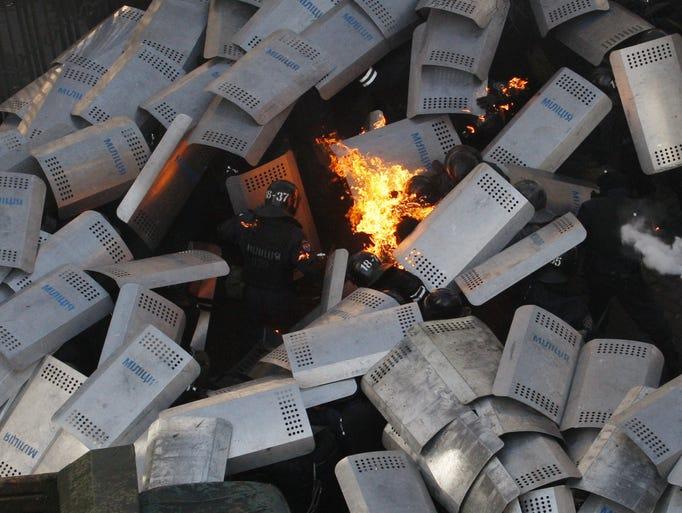 Kiev, Ukraine Explodes Into Violence