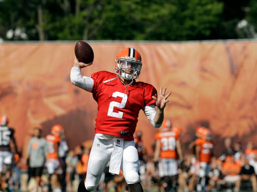 AP Browns Camp Football