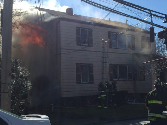 Port Chester fire Cottage St