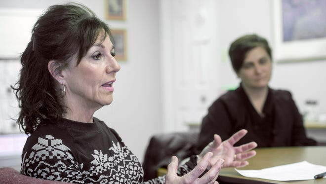 """Anne Acker, director of YWCA Hanover Safe Home, was surprised at how widely York County judges varied in how often they approved and denied temporary protection from abuse orders in 2014. Alleged victims' petitions are seen by whichever judge happens to be assigned that day. """"Your life should not have to depend on luck of the draw,"""" Acker said."""