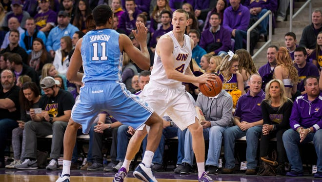 Merrill graduate and fifth-year senior Paul Jesperson hopes to make the NCAA Tournament for the fourth time in his career. Jesperson and Northern Iowa need a surge down the stretch despite beating two top-5 teams this year.