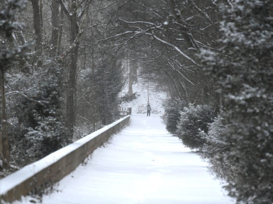 A beautiful scene at Radnor Lake State Park on Tuesday,