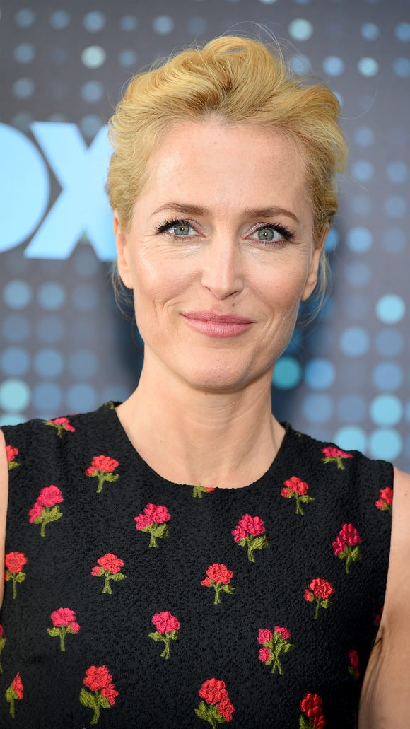 Gillian Anderson wants women to be more involved behind